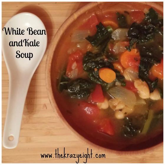 white bean souop